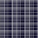 den abstrakt illustrationen mönsan den seamless vektorn Vitband på en svart bakgrund Royaltyfri Foto