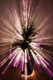 den abstrakt jultreen zoom Arkivfoto