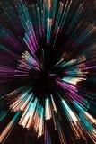 den abstrakt jultreen zoom Royaltyfri Fotografi