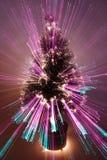 den abstrakt jultreen zoom Arkivbilder