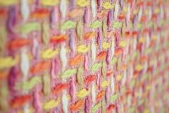 Den abstrakt textilen texturerar Royaltyfria Foton