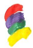 Den abstrakt vattenfärgen colors bakgrund Arkivbilder