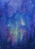 Den abstrakt vattenfärgen texturerar Royaltyfria Bilder