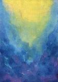 Den abstrakt vattenfärgen texturerar Arkivbild