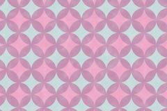 Den abstrakta överlappningen cirklar bakgrund Arkivfoton