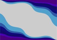 Den abstrakta bakgrunden i blåa skuggor Arkivfoto