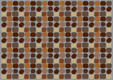 Den abstrakta bakgrunden i form av den naturliga stenen, paver Arkivbild