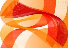 Den abstrakta bakgrunden i varma färger Royaltyfria Bilder