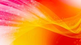 Den abstrakta bakgrundskonstdesignen, slätar vågbokeh och rosa färgrött ljus Royaltyfria Foton