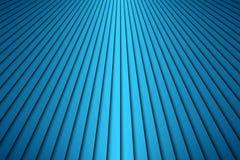 Den abstrakta blåa diagonalen gör randig bakgrund, moderna blålinjen Royaltyfri Bild