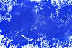 Den abstrakta blåa vattenfärgen målade papperstexturbakgrund fotografering för bildbyråer