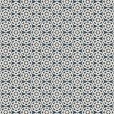 Den abstrakta blomman av utklippprydnaden, snör åt textur, sömlös modell för vektor stock illustrationer