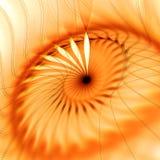 Den abstrakta fractalen formar bakgrund Royaltyfri Bild