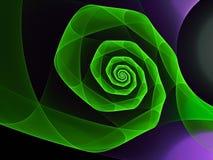 Den abstrakta fractalen formar bakgrund Fotografering för Bildbyråer