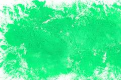 Den abstrakta gröna vattenfärgen målade papperstexturbakgrund arkivbild