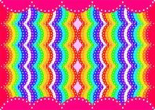 Den abstrakta ljusa färgrika bakgrunden Royaltyfri Fotografi