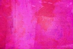 Den abstrakta ljusa rosa yttersidan har en borste som m?las p? bakgrunden f?r grafisk design royaltyfri fotografi