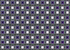 Den abstrakta modellen av fyrkanter och annan formar Royaltyfria Foton