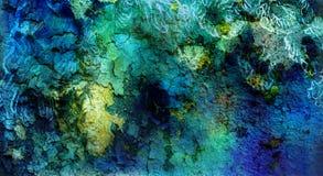 Den abstrakta prydnaden och knastrar bakgrund Arkivfoto