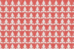 Den abstrakta röda geometriska modellen och triangeln formar på pappers- textu Fotografering för Bildbyråer