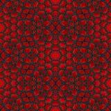 Den abstrakta röda granatröttstentegelplattan eller bakgrund gjorde sömlöst Vektor Illustrationer