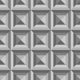 Den abstrakta sömlösa modellen komponerade av geometriska former i skuggor Royaltyfria Foton