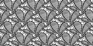 Den abstrakta sömlösa vektorn snör åt modellen vektor illustrationer