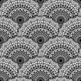 Den abstrakta sömlösa vektorn snör åt modellen royaltyfri illustrationer