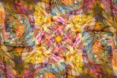 Den abstrakta virveln synar bakgrund Royaltyfria Bilder