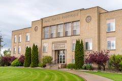 Den Adams County domstolsbyggnaden i Ritzville Washington Royaltyfria Bilder