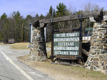 In den Adirondacks fahren, Staat New York Lizenzfreies Stockfoto