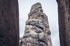 Den Adrspach teplicen vaggar Fotografering för Bildbyråer