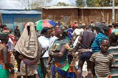 Afrikanskt folk Arkivbilder