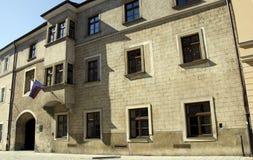 Den akademiska världen Istropolitana i Bratislava, Slovakien Fotografering för Bildbyråer