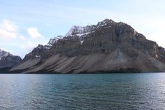 den alberta banff bowKanada laken lokaliserade nationalparken Royaltyfri Fotografi