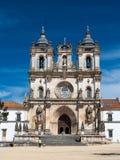 Den Alcobaca kloster är en Unesco-plats i Portugal Royaltyfri Foto