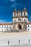 Den Alcobaca kloster är en Unesco-plats i Portugal Arkivfoton