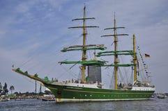 Den Alexander von Humboldt enen - rutt från Amsterdam Arkivfoto