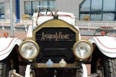 Den amerikanska antika bilen producerade vid den amerikanska laen Frankrike Arkivfoto