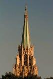 Den amerikanska protestantkyrkan i Paris, ` Orsay, Frankrike för kaj D Fotografering för Bildbyråer