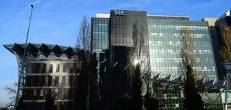 Den Amsterdam World Trade Center Arkivfoton