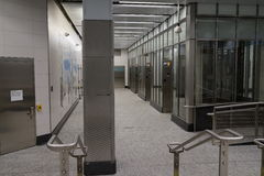 Den andra avenygångtunnelen 22 Arkivbild