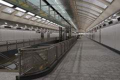 Den andra avenygångtunnelen 35 Arkivfoto