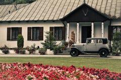 den antika bilen samlar Fotografering för Bildbyråer