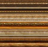 den antika dekorativa ramen mönsan lantligt Royaltyfri Foto