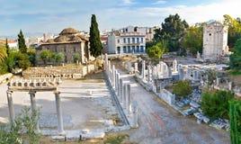 Den antika gatan Arkivbild