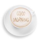 den antika koppen för affärskaffeavtalet danade för pennplatsen för den nya goda morgonen den gammala skrivmaskinen Royaltyfri Foto