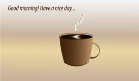 den antika koppen för affärskaffeavtalet danade för pennplatsen för den nya goda morgonen den gammala skrivmaskinen Royaltyfria Bilder