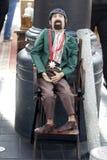 Den antika marknaden i den Spitalfields marknaden rymms traditionellt på torsdagar Royaltyfria Bilder
