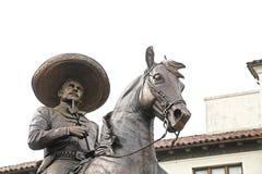 Den Antonio Aguilar statyn fotografering för bildbyråer